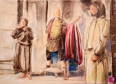 Gesù e Barabba da Pilato di Paolo Archilei