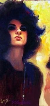 @TommyJoeRatliff Mysterious October. #fanart #tommyjoeratliff #art #portrait #myart