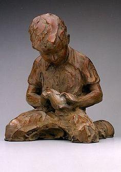 Jane DeDecker, Little Hands of Peace, Ed. 25/31 1999, bronze