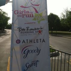 Downtown Cincinnati promoting great health for young Women~ Girls on the Run 5/12/12