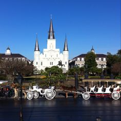 New Orleans on a cool crisp January morning 2012