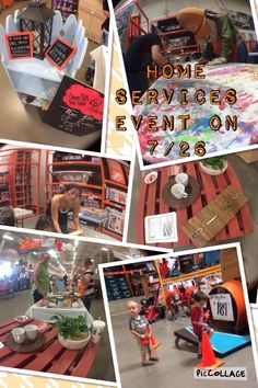 Home Services event at the Pecos Home Depot! Kids clinics, Pinterest Clinics, vendor reps to talk installs, Homer D. Poe and more!!