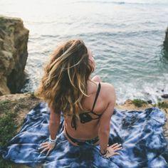 SAND CLOUD DONATES 10% OF NET PROFITS TO PRESERVE MARINE LIFE. Black Acid Wash Pocket Beach Towel, it's out of...
