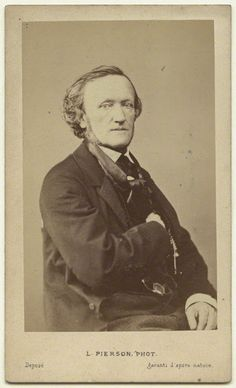 Mayer & Pierson (1822-1913), Portrait Photographique de Richard Wagner - mi-1860's.