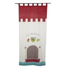 Rideau à pattes 110x250cm Multicolore - Chevalier - Nouveautés - Promos - Alinéa