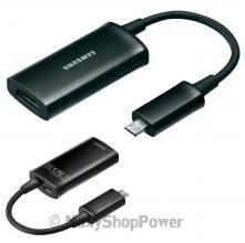 EPL-3FHUBEGSTD HDTV ADAPTER ADATTATORE SAMSUNG ORIGINALE USB HDMI BLACK NERO MICROUSB SU WWW.MAXYSHOPPOWER.COM