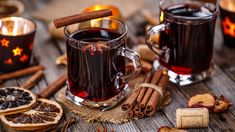 If you're a fan of mulled wine, then why not try this mulled port recipe? Perfect for the festive season, the port will appeal to anyone with a sweet tooth Dried Oranges, Oranges And Lemons, Wine And Food Festival, Christmas Punch, Xmas, Jus D'orange, Food Festival, Alcoholic Drinks, Christmas