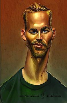 Paul Walker by bogdancovaciu on deviantART