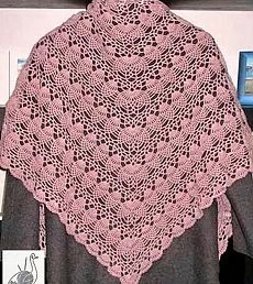 Pink Shawl with Pineapples (Crochet Knitting Handicraft)Best 12 As a gift, shawl . All in openwork … (Crochet) & quot; – Home Moms – SkillOfKing. Shawls do not happen much (a selection of patterns, a hook)Picture to pattern ' Shawl Patterns, Crochet Stitches Patterns, Thread Crochet, Knit Crochet, Knitting Patterns, Crochet Prayer Shawls, Crochet Shawls And Wraps, Crochet Scarves, Beginner Knitting Projects