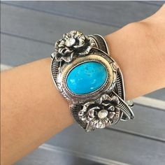 Navajo turquoise bracelet Vintage style and adorable! Please ask me to make you a new listing if you'd like to purchase  from T&j designs T&J Designs Jewelry Bracelets
