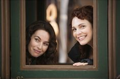 The Musketeers - BtS on set from cnbcetv on Instagram (Maimie McCoy 'Milady' & Tamla Kari 'Constance')