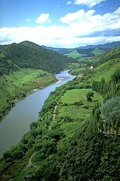 Whanganui River photo, New Zealand ~~~ My sister and brother in law have moved here recently they are very happy with their shift. Places To Travel, Places To Go, New Zealand Travel Guide, New Zealand Landscape, Kiwiana, The Beautiful Country, South Island, Auckland, What Is Like