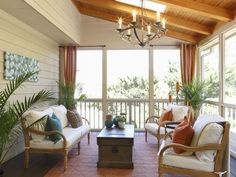 Gorgeous porch!!! Rockin' Renos from HGTV's Property Brothers : Decorating : Home & Garden Television