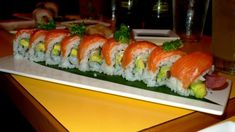Hanalei Dolphin in Kauai has amazing sushi and seafood.