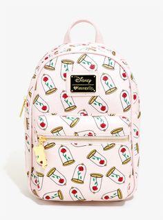 Loungefly Disney Beauty And The Beast Enchanted Rose Mini Backpack - BoxLunch Disney Handbags, Disney Purse, Cute Handbags, Cheap Handbags, Luxury Handbags, Cheap Purses, Cheap Bags, Trendy Handbags, Guess Handbags