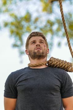 Junior and Big Jim bring Barbie (Mike Vogel) in front of the residents for justice, on the first season finale #UndertheDome