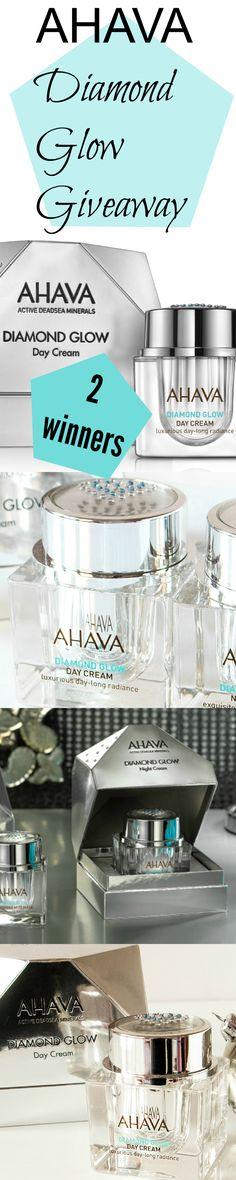 AHAVA Diamond Glow Skincare Giveaway from @beautystat here> http://beautystat.com/site/skincare/giveaway-review-ahava-diamond-glow-luxurious-day-cream-and-diamond-glow-exquisite-night-cream/ 2 WINNERS ad  diamondglow (ends Jan. 15, 2016)