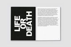 Branding by DIA for New York and LA based  full-service public relations and management business Life or Death