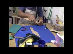 How to make shoes - Prescott Mackay shoemaking course Make Your Own Shoes, How To Make Shoes, Sewing Clothes, Diy Clothes, Ella Shoes, Shoe Pattern, Shoe Art, Custom Shoes, Leather Working