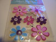 Flower Bling with Gems