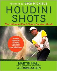 [EBook] Houdini Shots: The Ultimate Short Game Survival Guide Author Martin Hall and Dave Allen, Game Of Survival, Survival Prepping, Survival Skills, Survival Gear, Wilderness Survival, Survival Fishing, Dave Allen, Golf Card Game, Golf Books