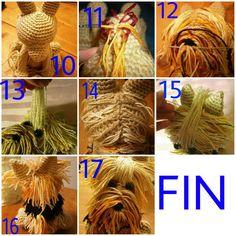 – Page 296463587972729958 – SkillOfKing. Bunny Crochet, Easter Crochet Patterns, Crochet Birds, All Free Crochet, Cute Crochet, Crochet Animals, Dog Pattern, Free Pattern, How To Make A Pom Pom
