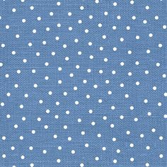 Henry Glass Fabrics Cock A Doodle Doo: Dots - Blue #6259-11