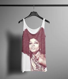 Diana Ross Vintage Look Tank