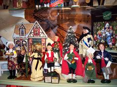 We are getting ready! The new Byers' Choice carolers have arrived. Come in to see the full collection.