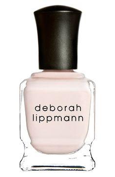 Deborah Lippmann Nail Polish in A Fine Romance #manicure