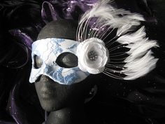 Lady Sabrina Handmade Leather Masquerade Mask by ToTheMask on Etsy