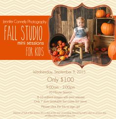 Fall Kids Mini Session Facebook