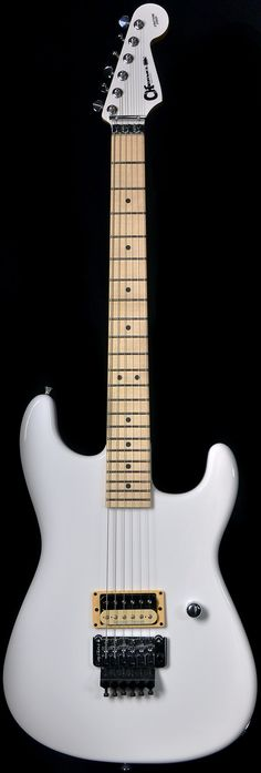 Wild West Guitars : Charvel Custom Shop San Dimas Snow White
