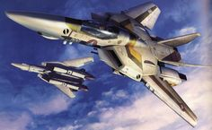 Robotech | ROBOTECH – Tenjin Hidetaka Art Works of Macross – Valkyries ...