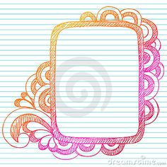 136 Best Hand Drawn Borders Images Doodle Art Drawings Doodle