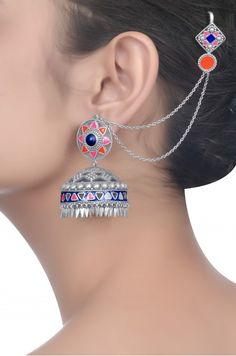 Most Stalked for Bridal Jewellery Inspirations – Amrapali Jewels Tribal Jewelry, Indian Jewelry, Jewelry Art, Antique Jewelry, Silver Jewelry, Jewelry Design, Fashion Jewelry, Amrapali Jewellery, Bridal Jewellery Inspiration
