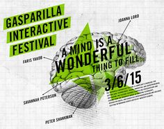 Website #design for the first annual Gasparilla Interactive Festival. Visit www.gasparillainteractive.org to see our work. #website #festival #tech