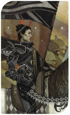 Dragon Age Inquisition Tarot - Cassandra
