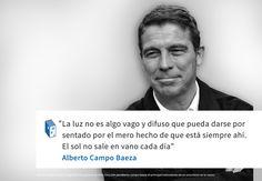 Frases: Alberto Campo Baeza y la Luz