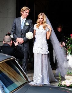 Poppy Delevingne in her simply fabulous Chanel wedding dress.