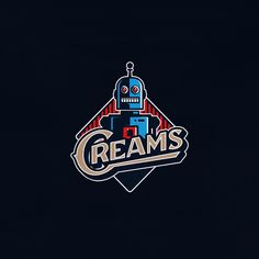 Creams by Srdjan Vidakovic | dribbble.com/Widakk - LEARN LOGO DESIGN  @learnlogodesign @learnlogodesign - Want to be featured next? Follow us and tag #logoinspirations in your post
