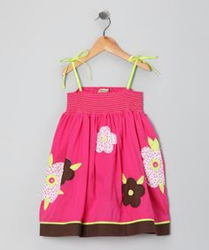pink flower dress  'I wanna wear it'