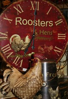 Roosters....a cute prim accent theme...    it'll give you something to crow about!  ;)