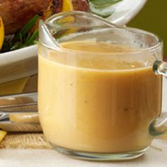 Simple Turkey Gravy Recipe- Recipes A traditional from-scratch gravy recipe will work for any roasted meat or poultry. Switch up the herbs to fit your preferences, or simply use what you have on hand. —Taste of Home Test Kitchen, Greendale, Wisconsin