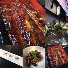 うなぎは大和田❣️ ☆*:.。. o(≧▽≦)o .。.:*☆  圧倒的な迫力のうな重❣️  うなぎが食べたいとおっしゃる東京からのお客様を満足させるにはこのお店に限ります❣️  うなぎ大和田❣️  大変美味しゅうございました❣️  徹底している為に土用丑の日はお休みのお店です❣️  焼きたてオンリー❣️  美味い美味すぎる❣️  感謝❣️  #うなぎ大和田 #焼きたてのみを提供 #二度焼きは反則です #うな肝は大好物 #絶品のうな重 #お庭が素敵なうなぎ屋さん #鯉が優雅に泳いでる #instadaily   #instagood  #followme  #instafood  #f4f  #instadaily    #instalike    #instagram #breakthrough  #breakthroughjapan #breakthroughnagoya #googlestreetview #retty  #名古屋市熱田区 #感謝
