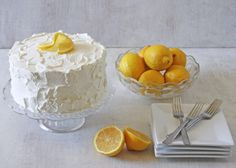 Lemon Chiffon Layer Cake Recipe   CakeJournal   How to make beautiful cakes, sweet cupcakes and delicious cookies