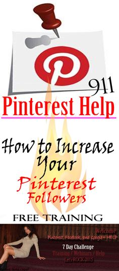 Do you need help to boost your Pinterest account? Do you want to know how to make money using Pinterest. Get FREE education, tips, tricks , free webinars and more... Click on the picture! Join the group, and start grow your business using Pinterest