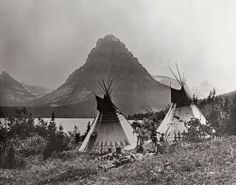 Blackfeet at Two Medicine Lake
