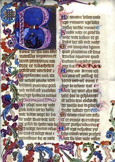 Illuminated Manuscript? 1370's Poland
