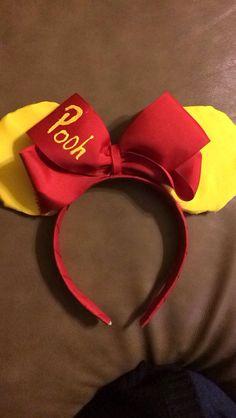 Winnie the Pooh inspired Mickey ears